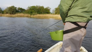 Regenpause: in solchen Buchten gilt es die Raubfische zu finden