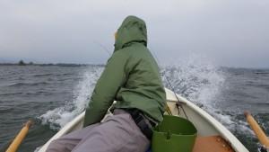 Auf dem Weg zur ersten Bucht
